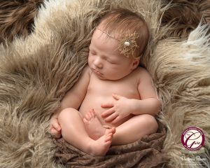 Newborn photographer Victoria Rowe was awarded the prestigious Bronze bar for this image captured at her Isleworth studio in South West London