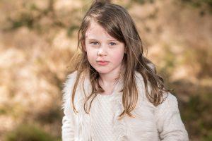Brunette girl at Esher Commons
